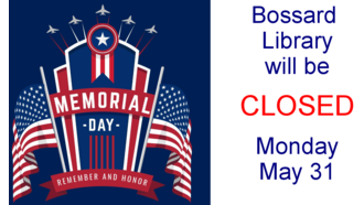 Closed Memorial Day 330 by 186
