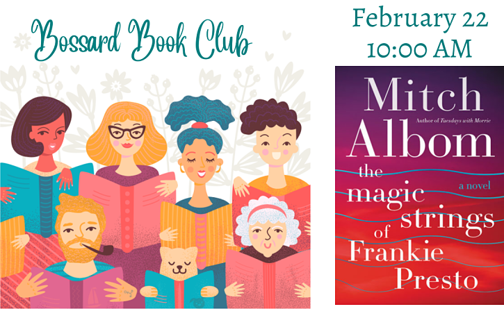 February 2020 Adult Book Club